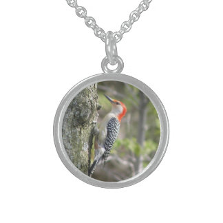 Red Bellied Woodpecker Bird Necklace