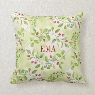 Red Berries Cushion