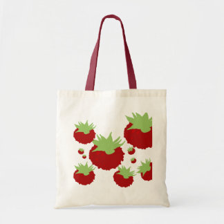 Red Berries Modern Designer Tote Bag Buy Online
