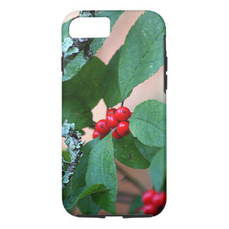 Red Berry Bush iPhone 7 Case