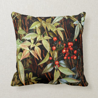 Red Berry Throw Pillow