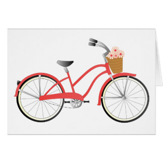 Red Bicycle Card