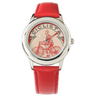 Red Bicycle Watch