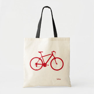 red bike, cycling
