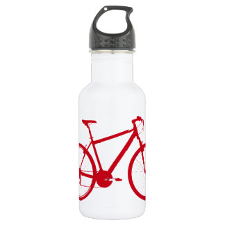 red bike, cycling 532 ml water bottle