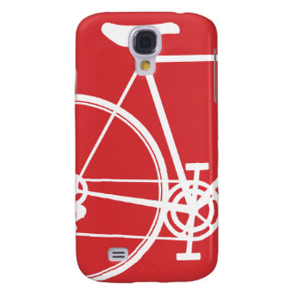 Red bike symbol 3G Galaxy S4 Cover