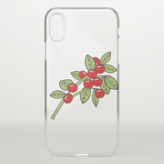 red bilberries iPhone x case
