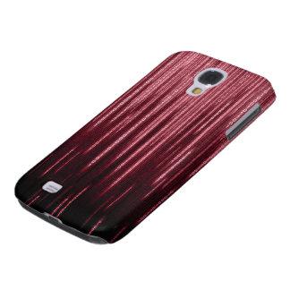 Red Binary Rain Samsung Galaxy S4 Case