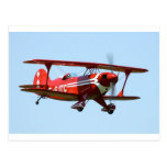 Red Biplane Post Cards