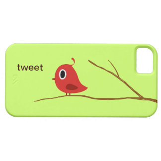 Red Bird Barely There iPhone 5 Case