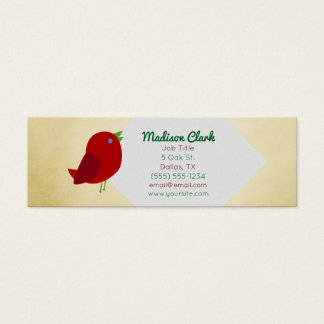 Red Bird Business Cards