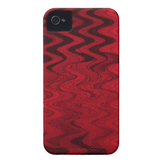 red black abstract iPhone 4 case