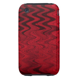 red black abstract iPhone 3 tough covers