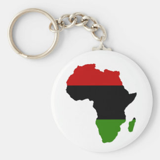 Red, Black and Green Keychain