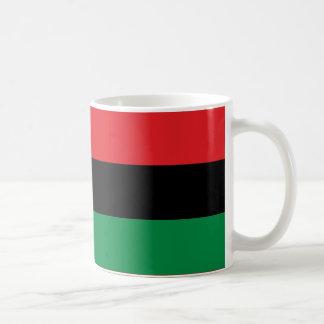 Red Black and Green Pan-African UNIA flag Coffee Mug