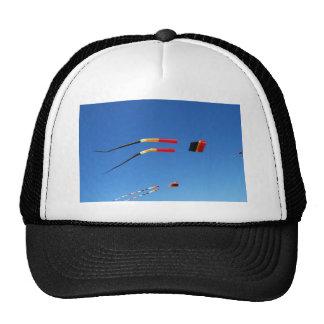 Red, Black, and Yellow Kite Trucker Hat