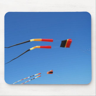 Red, Black, and Yellow Kite Mousepads
