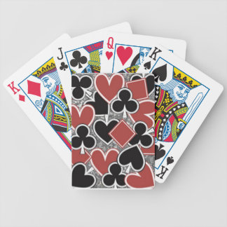 Red, Black, Bicycle Poker Playing Cards