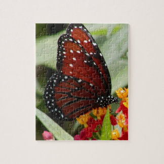 Red & Black Butterfly Puzzle
