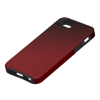 Red Black Gradient Iphone 5 Case