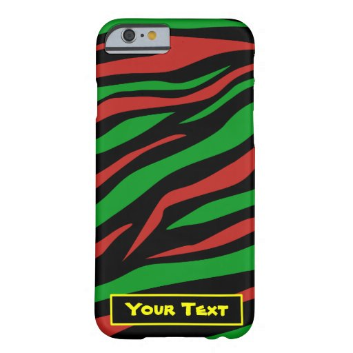 Red Black Green - A Tribe Called Quest Theme iPhone 6 Case