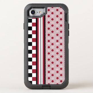 Red Black Honey OtterBox Defender iPhone 8/7 Case