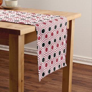 Red Black Honey Short Table Runner