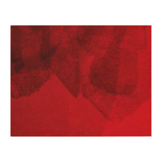 Red black love abstract modern painting design art wood canvas