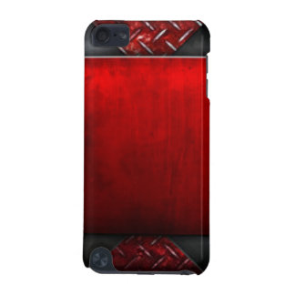 Red Black Pattern Print Design iPod Touch 5G Cover