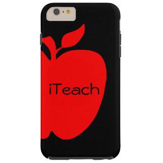 Red & Black Teacher's iPhone 6 Plus case