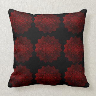 Red & Black Throw Pillow
