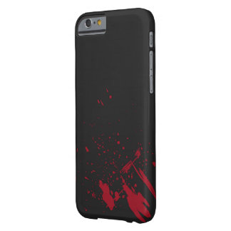 Red Blood Splatter Barely There iPhone 6 Case