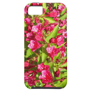 red bloom iPhone 5 case