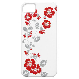 red blooms iPhone 5 case