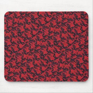 Red Blooms Mousepad