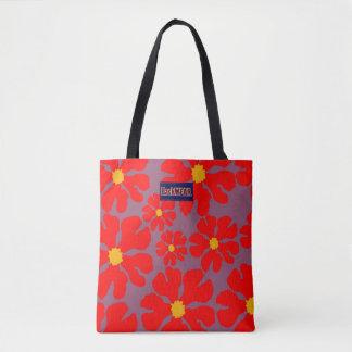 Red Blossoms Modern Designer Bag Buy Online