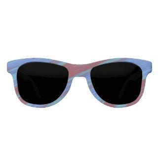 Red Blue Color Swish Sunglasses