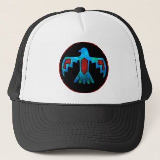 Red & Blue Thunderbird Cap