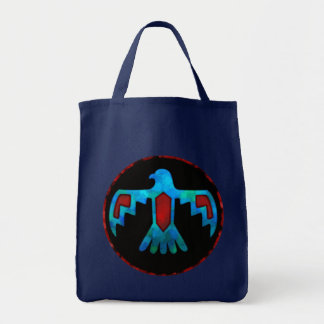 Red & Blue Thunderbird Tote Bag