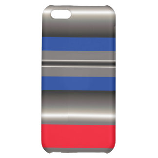 Red Blue white  Case For iPhone 5C
