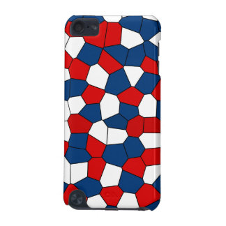 Red Blue White Pattern iPod Touch (5th Generation) Cover