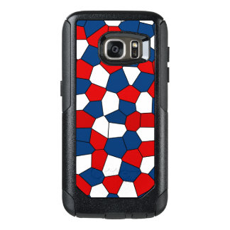 Red Blue White Pattern OtterBox Samsung Galaxy S7 Case
