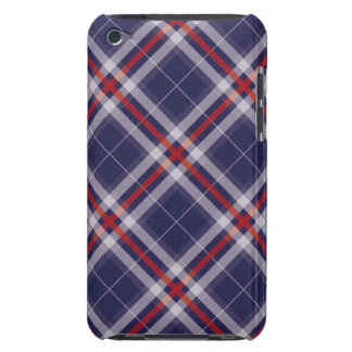 Red-Blue-White-small iPod Touch Case-Mate Case