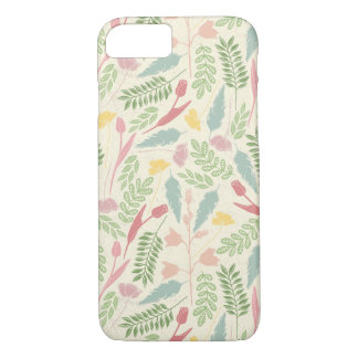 Red Blue Yellow and Green Spring Leaves iPhone 7 Case