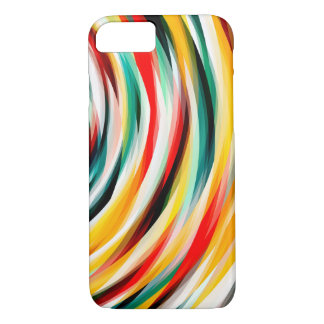 Red Blue Yellow Black iPhone 8/7 Case