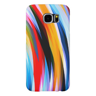 Red Blue Yellow Black Samsung Galaxy S6 Cases