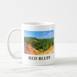 Red Bluff hills in Mississippi Coffee Mug