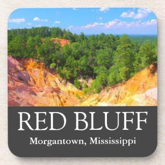 Red Bluff - Little Grand Canyon - Cork Coasters