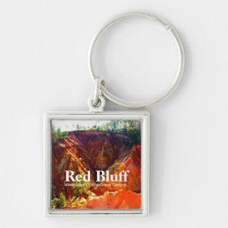 Red Bluff - Mississippi's Little Grand Canyon Key Ring