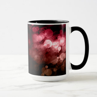 Red Bokeh Pattern Design Mug
